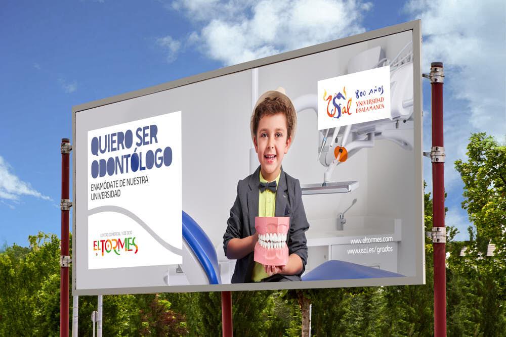 foto publicitaria salamanca odontología