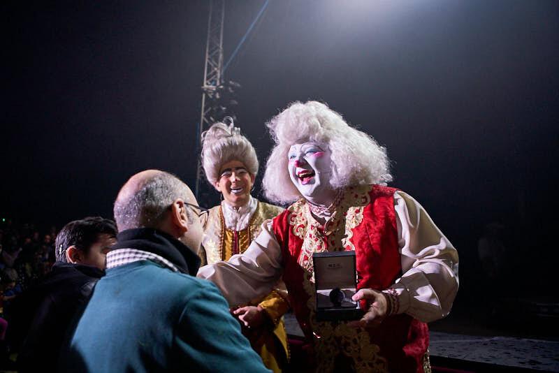 fotografías de payasos del circo alegría en salamanca