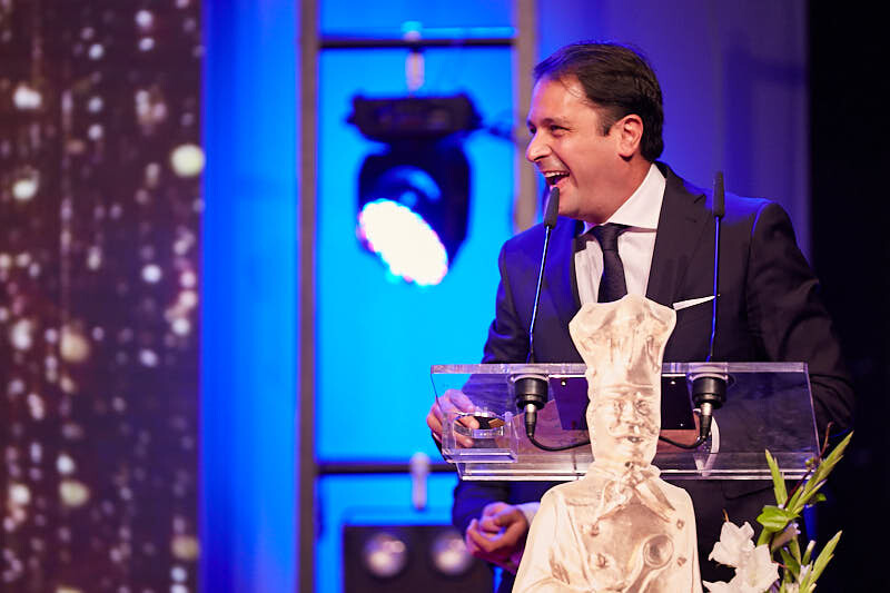 fotógrafos de la gala de entrega de premios de hostelería salamanca