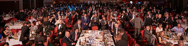 fotografía del púbico a la gala de entrega de premios de hostelería salamanca