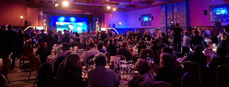 foto panorámica del público de la gala hostelería salamanca