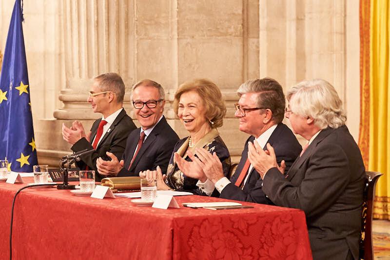 fotógrafos de eventos de salamanca en el palacio real durante la entrega del XXVIII Premio Reina Sofía de Poesía Iberoamericana