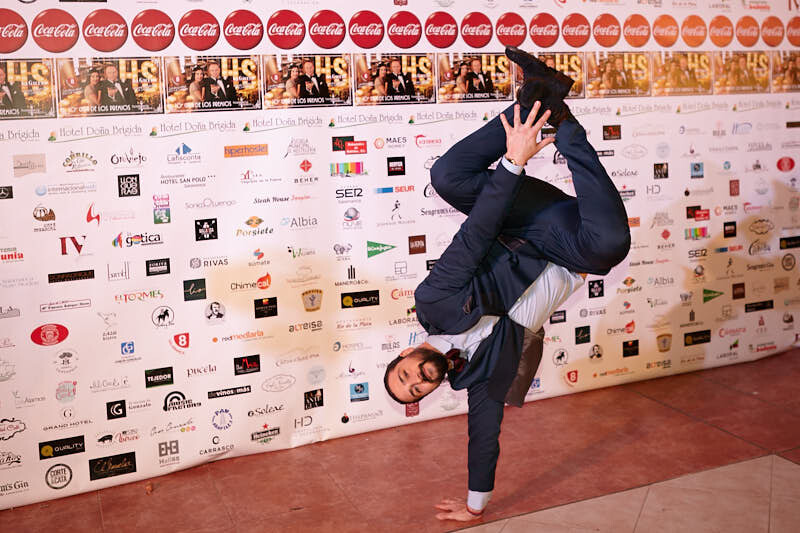 fotografías del fotocol de la gala hostelería salamanca